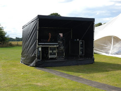 FOH stage