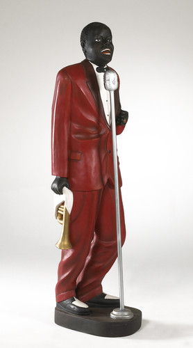 Louis Armstrong Statue Staging Services