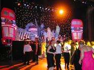 London Skyline Stage Set - Prop Hire - Staging Services