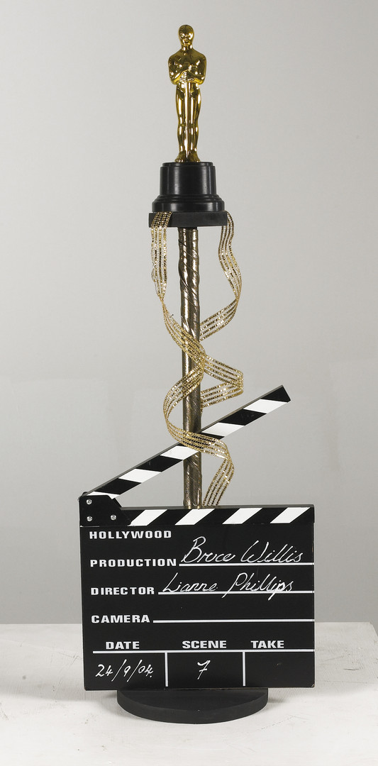 Hollywood table centre - prop hire - staging services