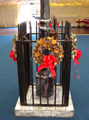 Christmas Lamp Post Surround Prop - Staging Services