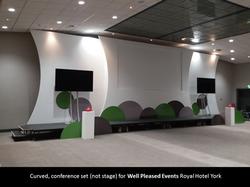 Curved Conference Set