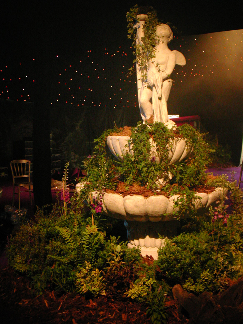 Ornate Fountain - Prop hire - Staging Services