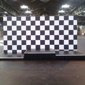 Winners Podium Stage & Set