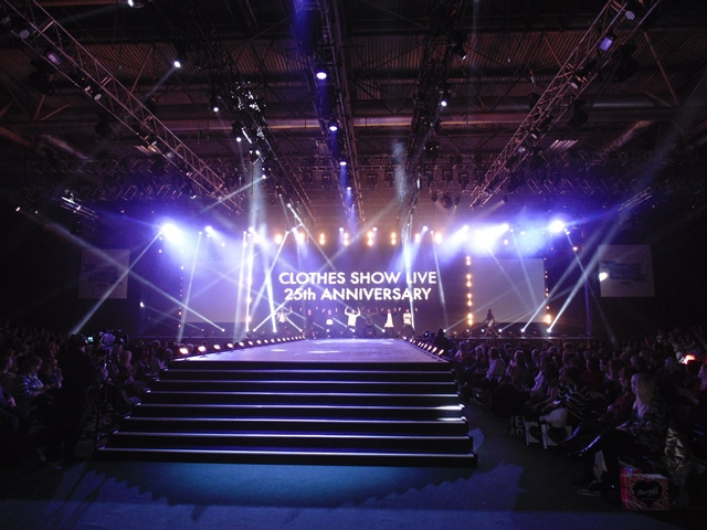 Clothes Show Live 2014 stage provided by Staging Services ltd