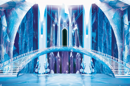 Narnia Event Theming Idea's - Ice Palace