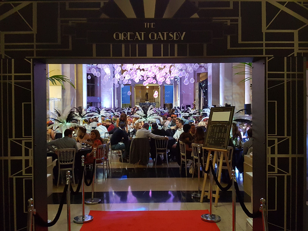 The Great Gatsby Event Prop Hire