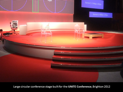 Circular Conference Stage & Set