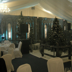 Winter Party Event Theming