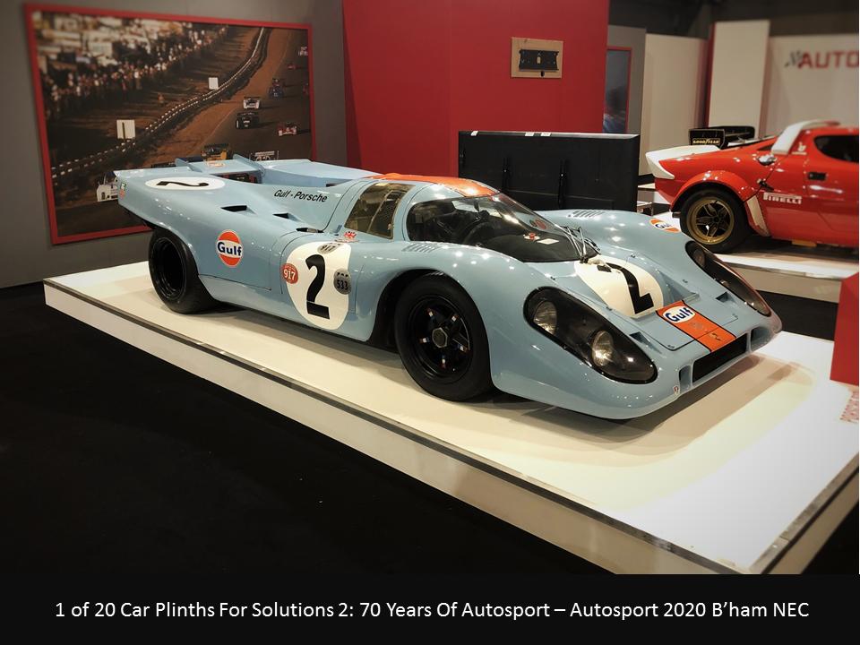 Porsche 917 Autosport Car Plinth