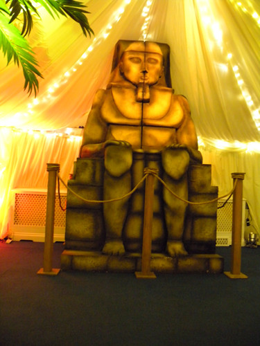 Sphinx Egyptian Prop Hire -Staging Services