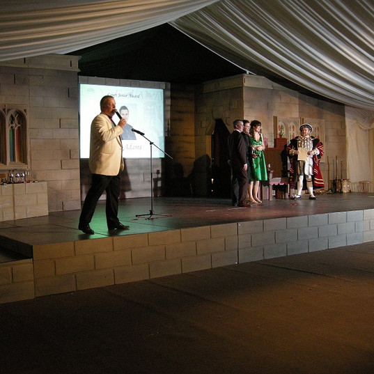 Medieval Banquet with Awards - Medieval Event Theming