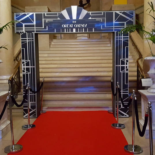 Great Gatsby Entrance Feature