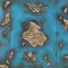 Lost City of Atlatis Table Runner - Venue Dressing