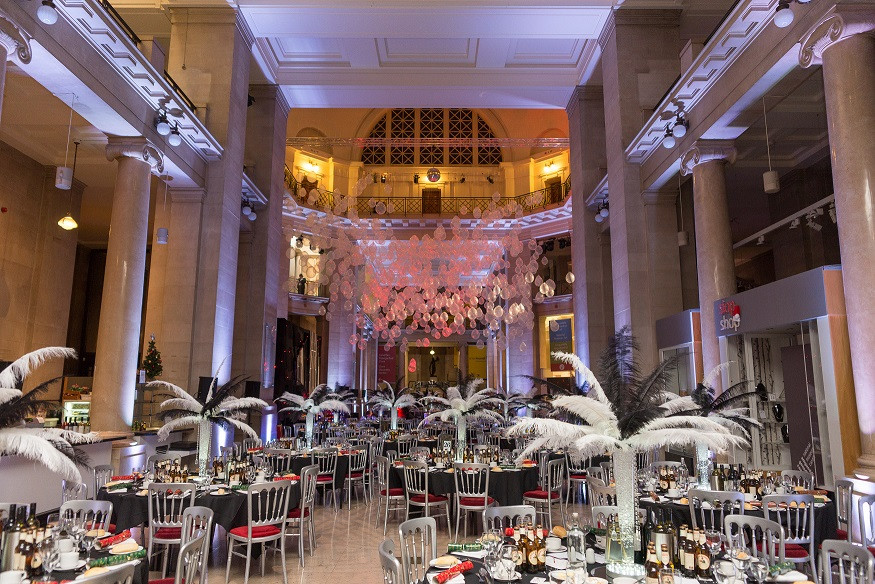 Theming Services Art-Deco Venue & Table Dressing