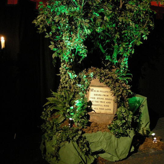 Sword in the Stone Prop Hire - Medieval Event Theming