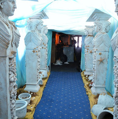 Lost City Of Atlantis Statues Event Theming