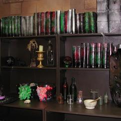 Hogwarts Bookshelves