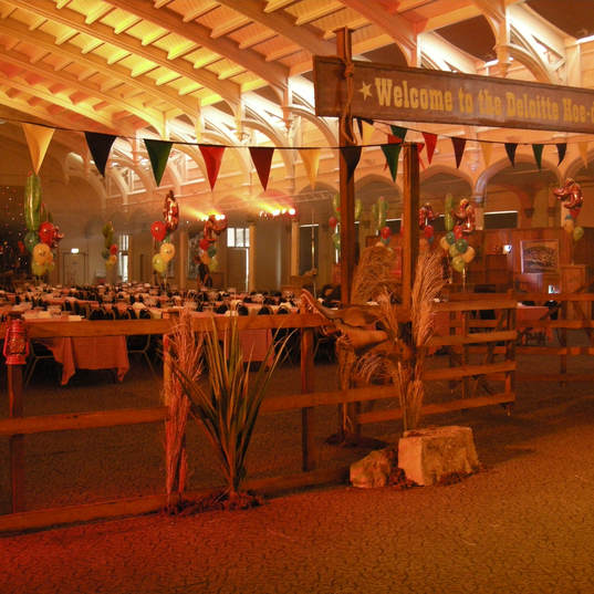 Wild West Event Theming