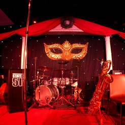 Masquerade Ball - Stage & Set Venue Dressing