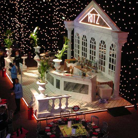 The Ritz Bar Themed Event & Prop Hire
