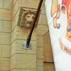 Harry Potter - Hogwarts Standard - Flag