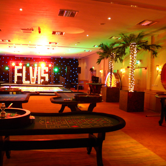 Casino Hire Event