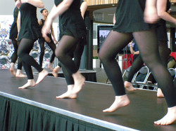 Stage Tile on Walsall College Catwalk