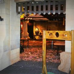 Hogwarts Castle Entrance Feature
