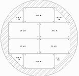 5m Diameter circular stage