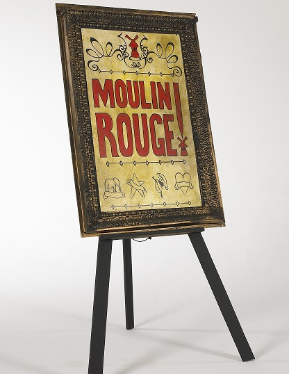 1-460-Toulouse Lautrec  'Moulin Rouge' P