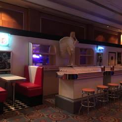 American Diner Full Length Bar