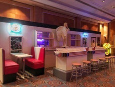 American Diner Bar Hire - Staging Services