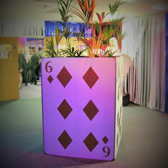 Giant Playing Card Planter.JPG