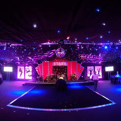 CIrcus Themed Stage & Set