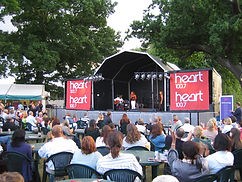 6m x 6m Stage Canopy Hire