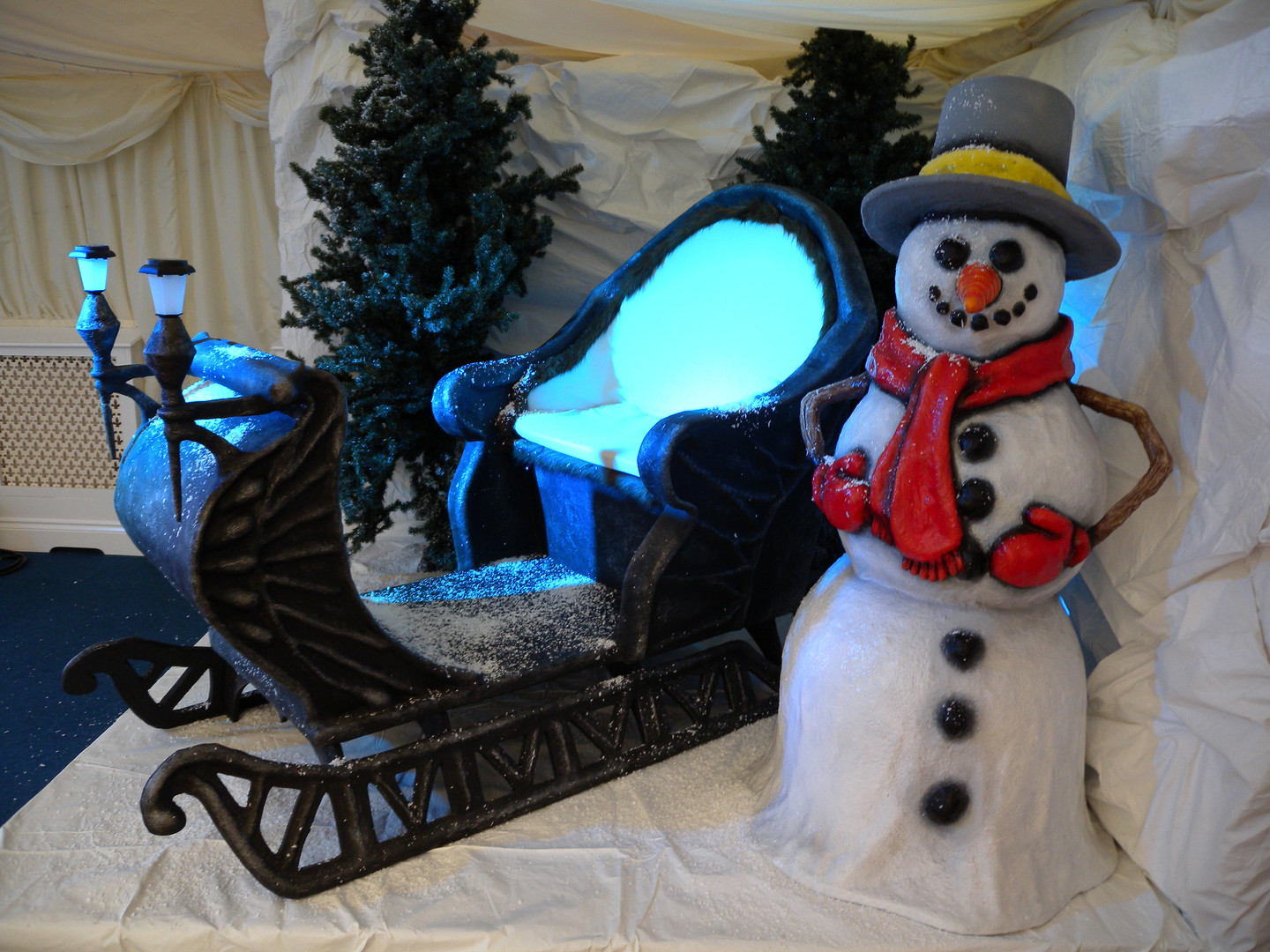 Santa Sleigh For Hire - Staging Services