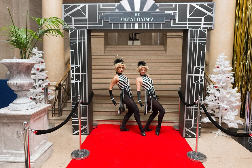 Great Gatsby Entrance Feature & Photo Backdrop