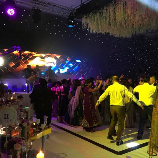 Asian Wedding Room Dressing Star Cloth