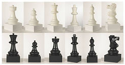 Chess Piece Table Centre