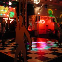 John Travolta & Black and White Dance Fl
