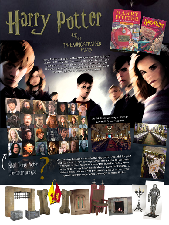 Harry Potter Fact Theming Fact Sheet Low
