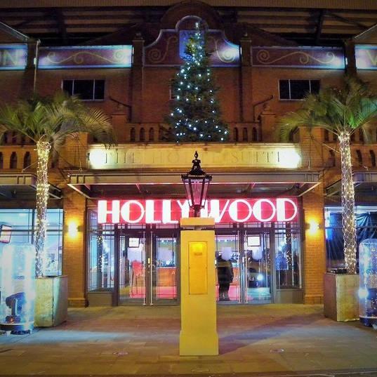 Neon Hollywood Sign Aston Villa