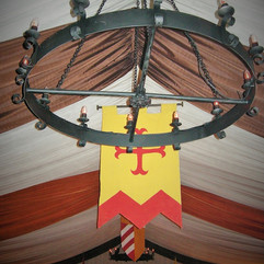 Medieval Banquet with Iron Chandelier- Themed Events