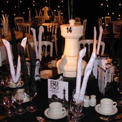 White Castle Table Centre
