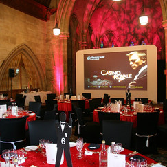 James Bond Table & Venue Dressing