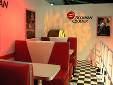 American Diner Booths - Staging Services