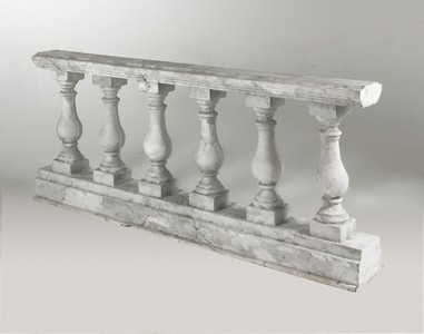 Marble Balustrade Prop Hire - Staging Services