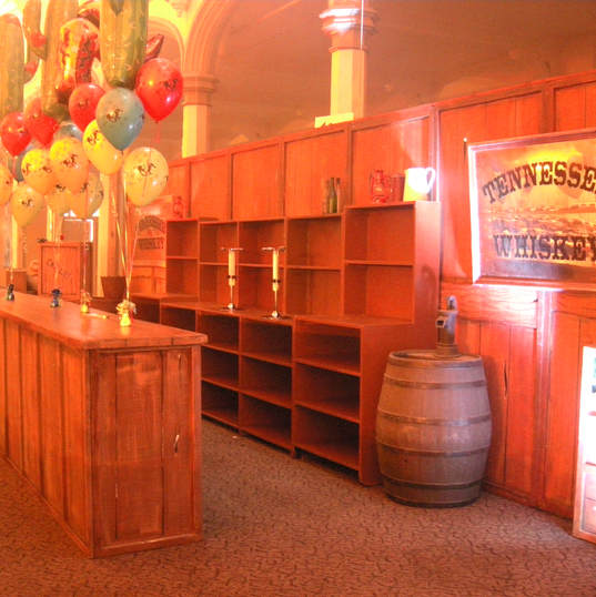Country & Western Themed Bar Hire