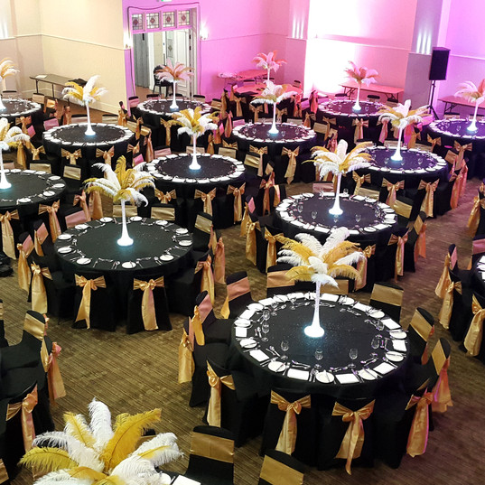 Masquerade Ball - Venetian Table Dressing - Event Theming